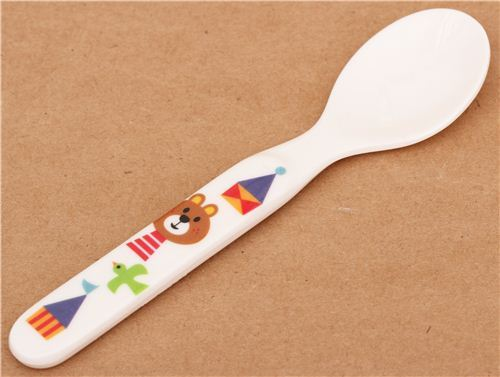 kawaii bear bird spoon cutlery from Japan