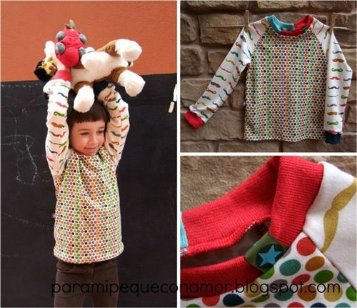 Para Mi Peque Con Amor made children's wear with our organic birch knit fabrics