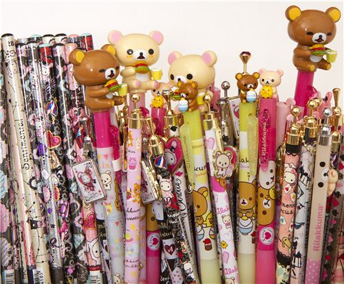 The next 100 shop orders will receive a free surprise Rilakkuma pencil