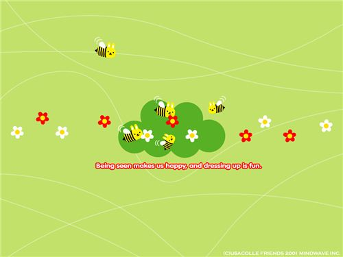 flowers and bees from usacolle.com