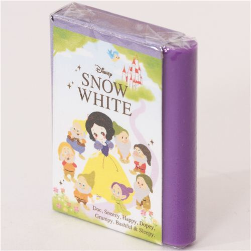kawaii Snow White fairy tale book eraser