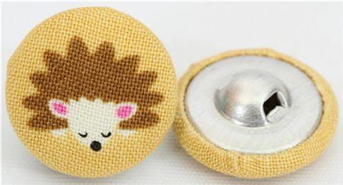 Handmade Michael Miller buttons 1
