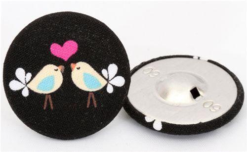 Handmade Michael Miller buttons 3