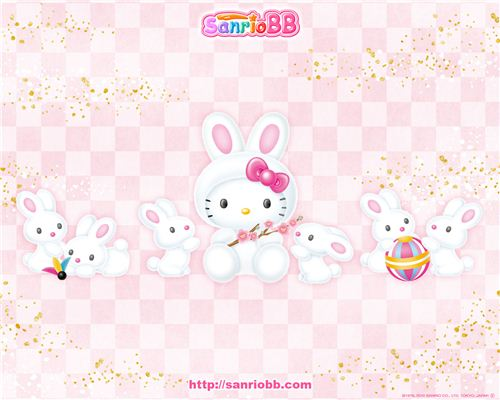 Happy Easter from modes4u and Hello Kitty