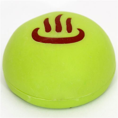Japanese Green Tea bun eraser Japan Iwako