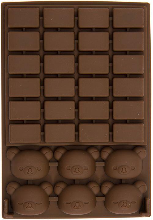 kawaii Rilakkuma bear silicone chocolate mold