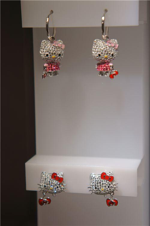 cute little Hello Kitty earrings