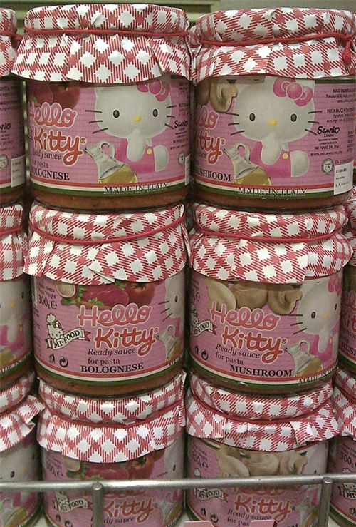 Hello Kitty Food in the supermarket 4
