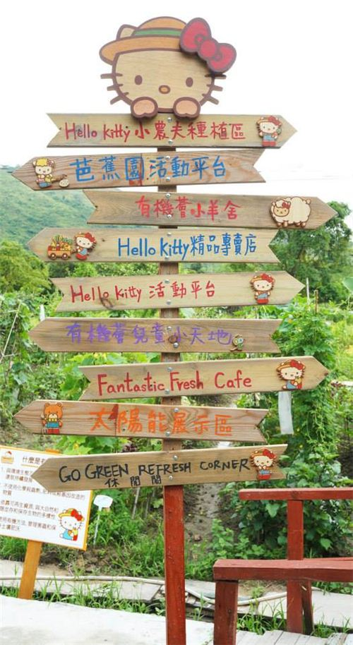 Hello Kitty directory on the organic farm
