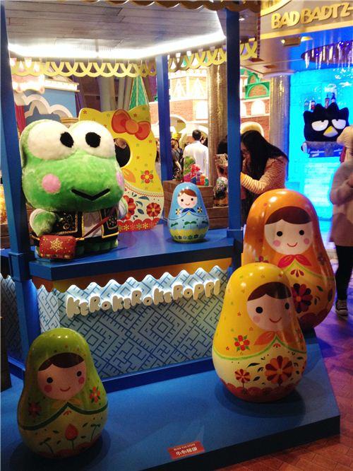 KeroKeroKeroppi's Matryoshka Doll Shop