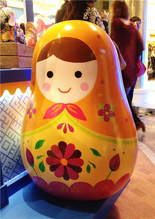 The nesting dolls are so kawaii
