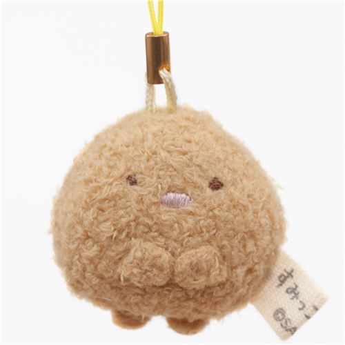 mini Sumikkogurashi cutlet cute plush charm by San-X