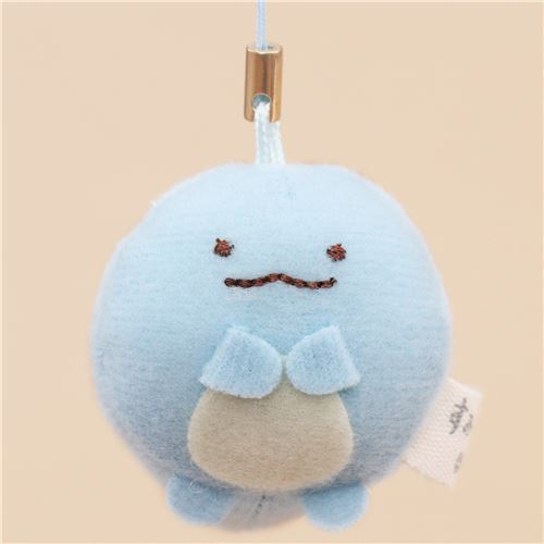 mini Sumikkogurashi lizard cute plush charm by San-X