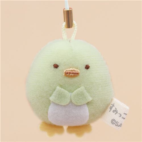 mini Sumikkogurashi penguin cute plush charm by San-X