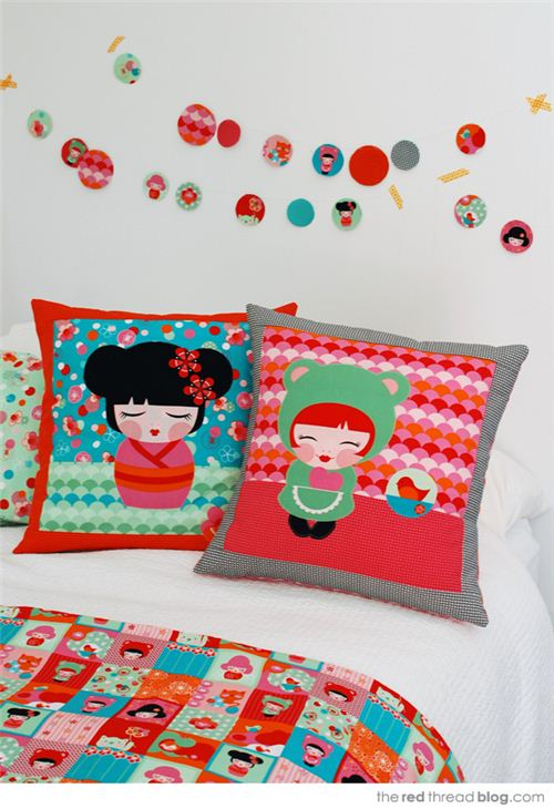 On her blog The Red Thread designer Lisa Tilse shares some wonderful sewing ideas