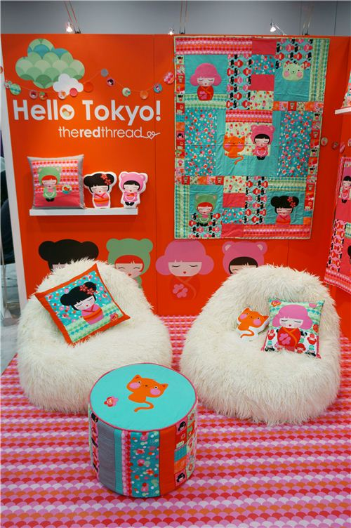 Robert Kaufman presents the lovely Hello Tokyo collection at the Spring Quilt Market