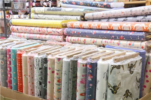 Lots of lovely and new Cotton and Steel fabrics!