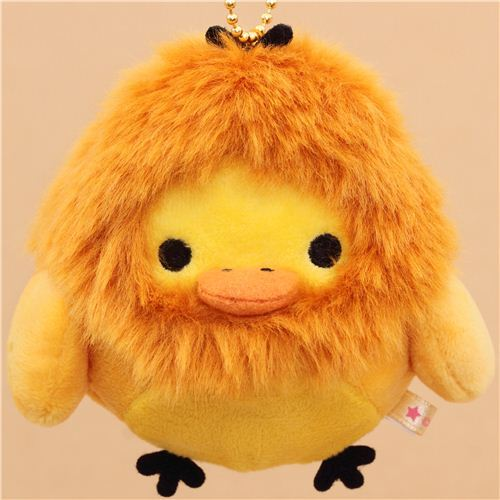 zodiac sign Rilakkuma yellow chick as Leo plush toy charm