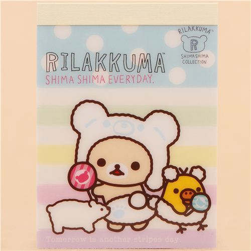 Take note of polar bear day with Korilakkuma and friends