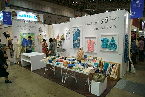 Kokka's booth at the show