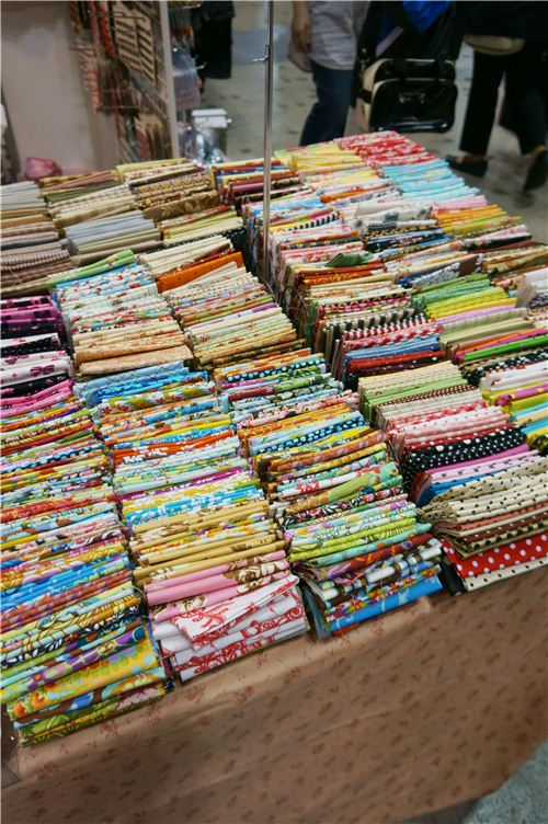 This is fabric heaven!