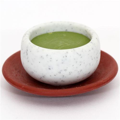 Japanese Green Tea eraser from Japan by Iwako