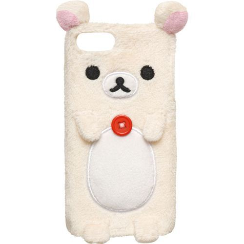 Rilakkuma white bear iPhone 5 plush hard cover case San-X