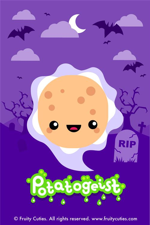 Cute Ghost Background Iphone