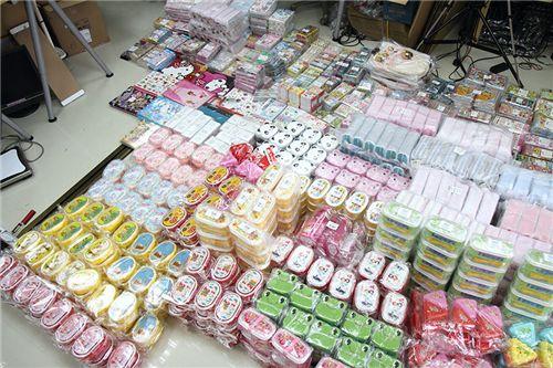 Kawaii goods arrive from Japan