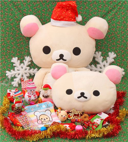 Korilakkuma picked his favorite Christmas presents from our shop