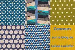 Christmas Fabric Giveaway on Laisse Luciefier (ends on Nov 18th, 2016)