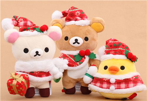 We have the limited Rilakkuma Christmas plushie edition in our shop