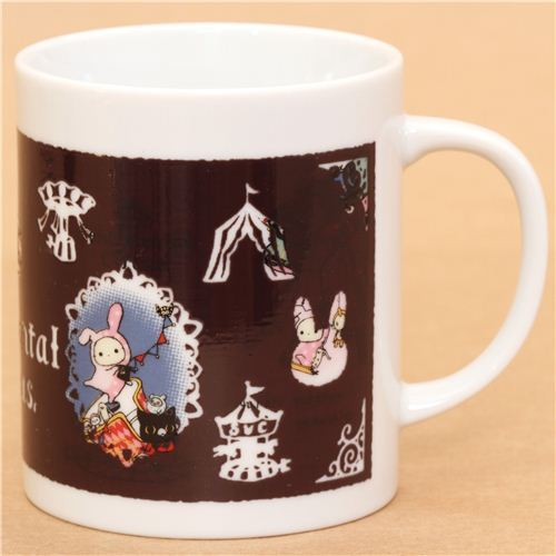 Sentimental Circus animal magic mug carousel San-X