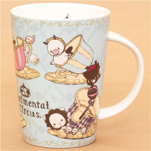 big light blue Sentimental Circus carnival cup San-X