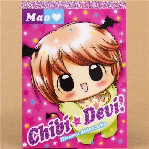 kawaii Devil Baby Memo Pad from Japan