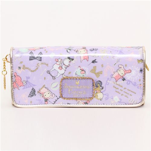 big purple Sentimental Circus wallet rabbit big top San-X