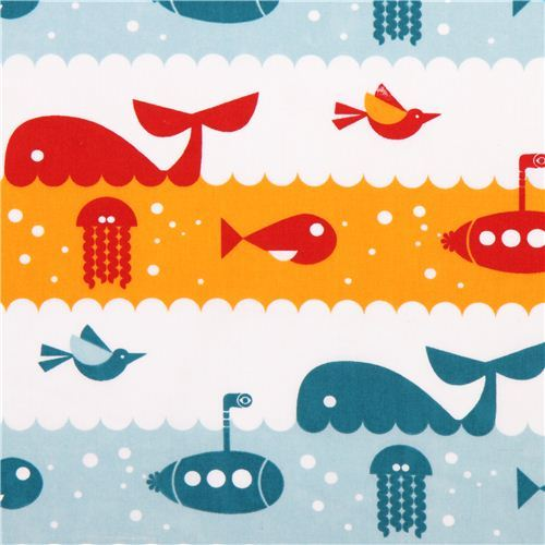 white maritime birch sea animal organic fabric Marine Life