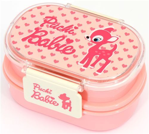 pink Puchi Babie Bambi Bento Box lunch box from Japan