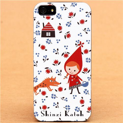 Little Red Riding Hood fairy tale iPhone 5 hard cover case