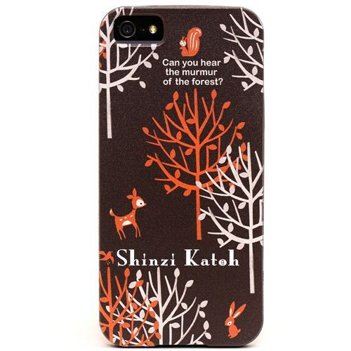 brown forest deer iPhone 5 hard cover case from Japan