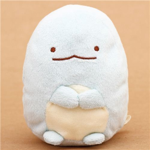 small San-X Sumikkogurashi plush toy blue water monster