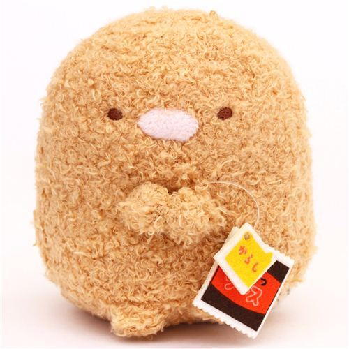 small San-X Sumikkogurashi plush toy brown Tonkatsu cutlet