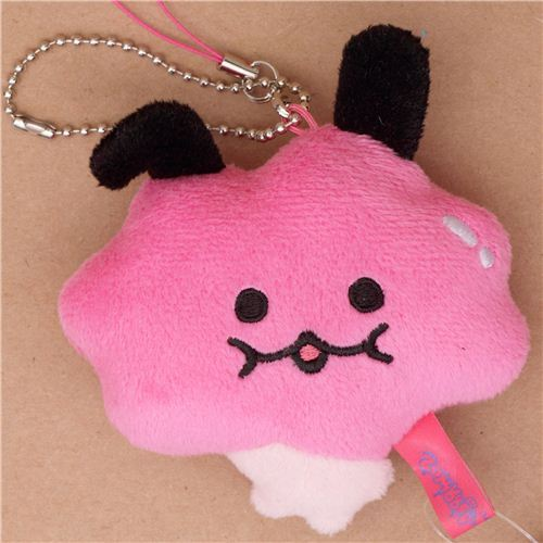 pink Zombbit zombie animal rabbit Somii plush charm San-X