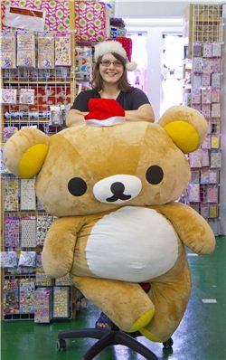 Christmas gift ideas by Rilakkuma and Bianca