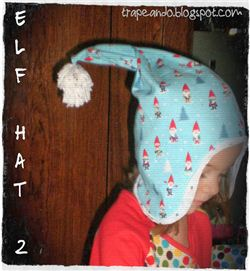 Christmas Elf Hat (Spanish blog)