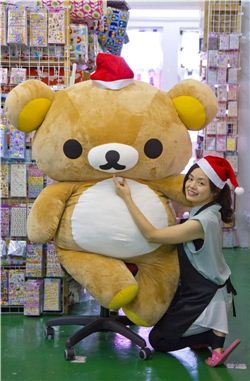 Christmas gift ideas by Rilakkuma and Karen