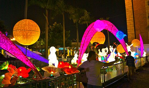 Mid-Autumn Festival in Hong Kong.