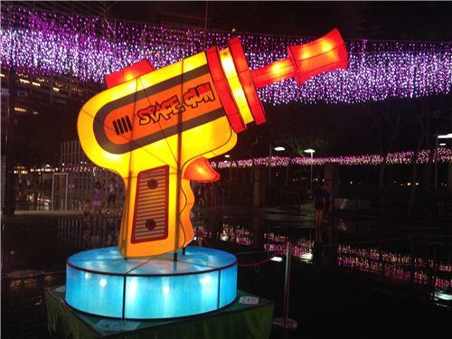 space gun lantern