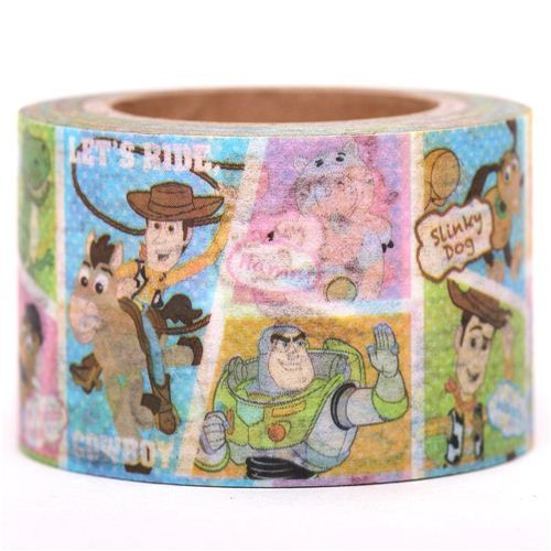 wide Disney Toy Story Woody Washi Masking Tape
