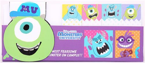 Monsters University index stickers bookmark sticker magnet